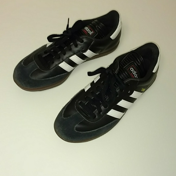 ba63ac2fa adidas Shoes   Samba Classic Indoor Soccer Sneakers   Poshmark